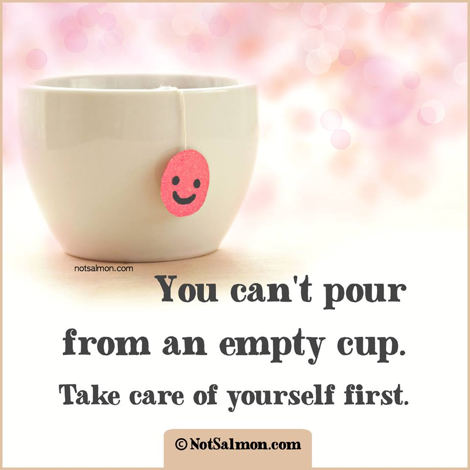 You Cant Pour From And Empty Cup